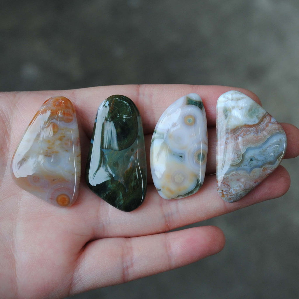 Ocean Jasper cabs (freeform lot)