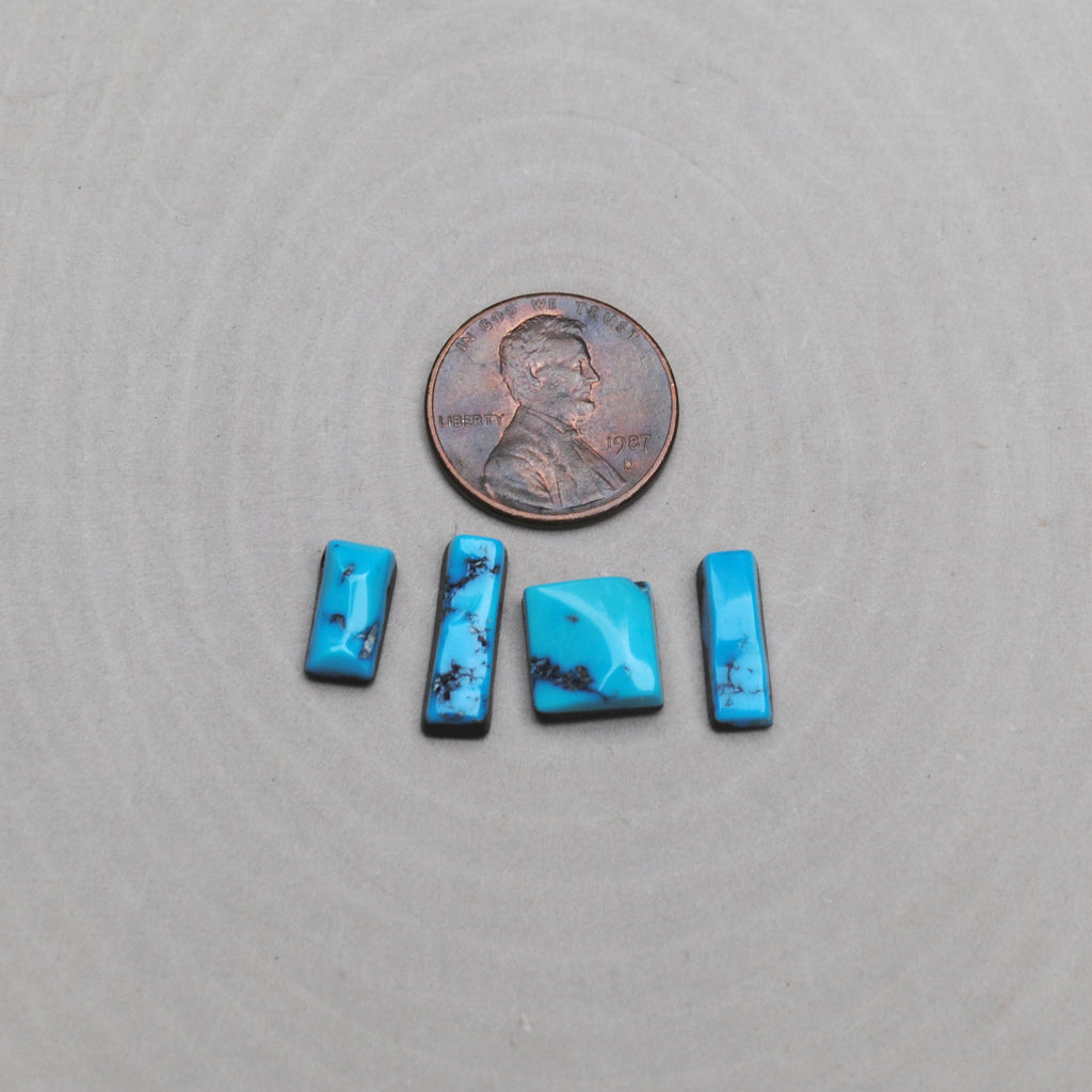 Kingman Turquoise Rectangle Cabs