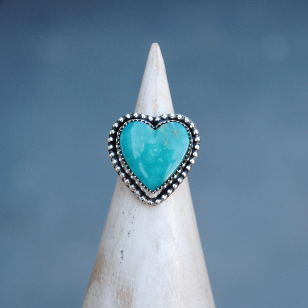 RESERVED: Turquoise Heart