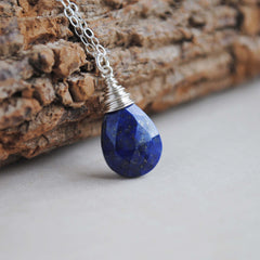 Lapis Lazuli Faceted Necklace