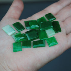 Green Aventurine Cabs (Lot 2)