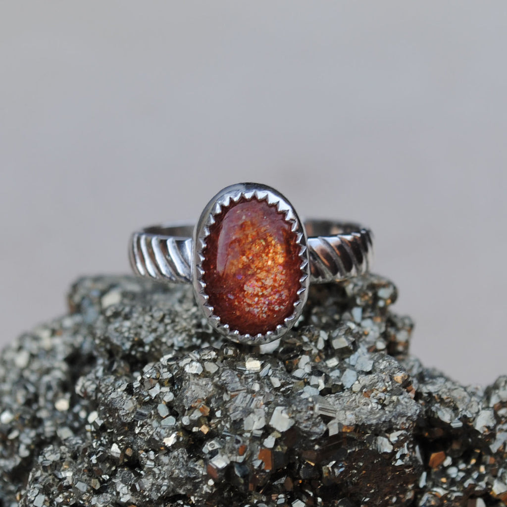 RESERVED: Sunstone Ring