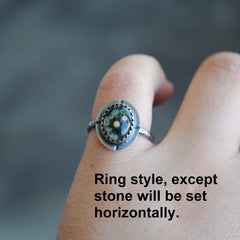 RESERVED: Number 8 Turquoise Ring, Size 6.75