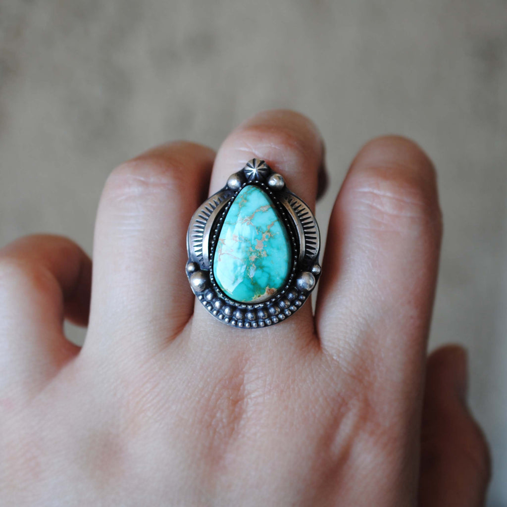 RESERVED: Royston Turquoise (deposit payment)