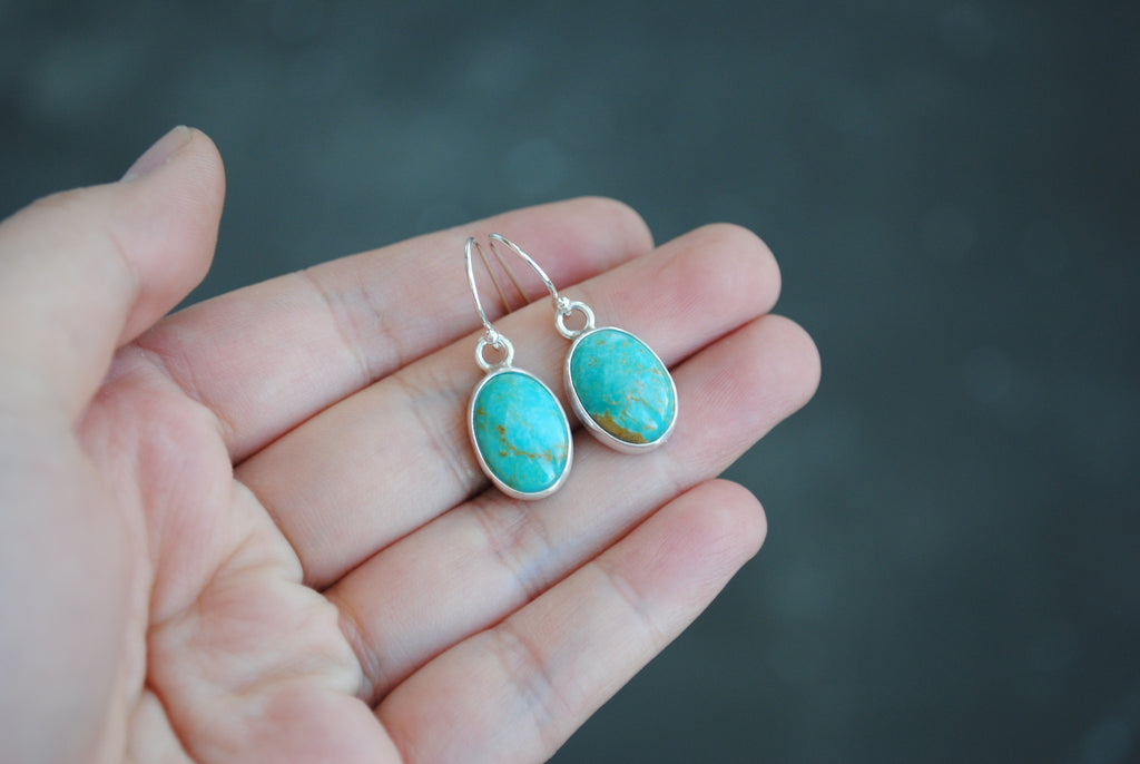 RESERVED: Turquoise Earrings