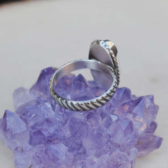 RESERVED: White Buffalo Ring, Size 9.25