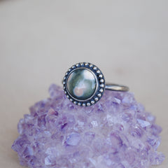 RESERVED: Amethyst Ring, Size 8