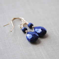 Lapis Lazuli Dangle Earrings