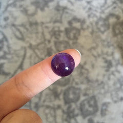 RESERVED: Amethyst Ring, Size 6