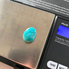 Carico turquoise cabochon