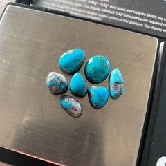 Morenci turquoise cabochons