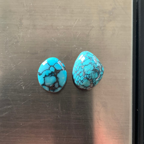 Chinese turquoise cabochons
