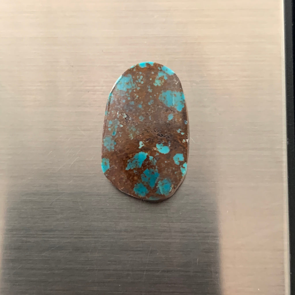Unknown mine turquoise cabochon