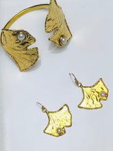 Load image into Gallery viewer, Ginkgo Leaf Earring