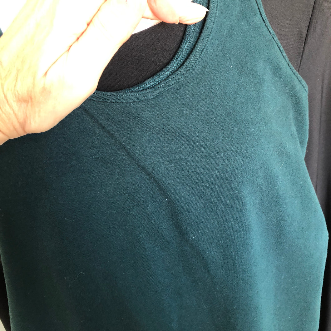 Round Neck Tank Body Dress
