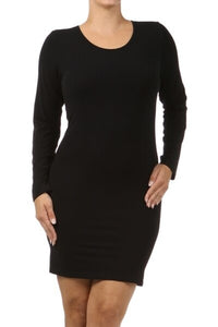 Long Sleeve Body Dress