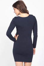 Load image into Gallery viewer, Long Sleeve Body Dress