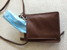 Load image into Gallery viewer, Leather and Cowhide Crossbody Wallet/Purse