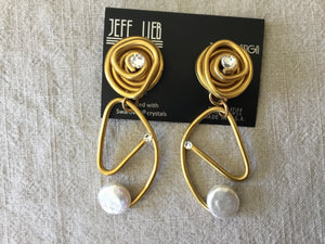 Jeff Lieb Large Drop Earring
