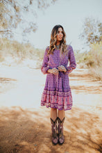 Load image into Gallery viewer, DALLAS PLAY DRESS – WILD ROSE GYPSY TRADER