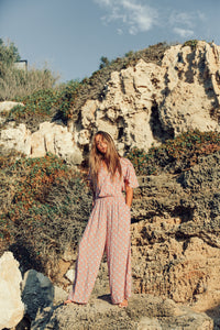 FLORAL  JUMPSUIT GYPSY TRADER