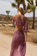 Load image into Gallery viewer, THE ZADEE SKIRT - ROSE GYPSY TRADER