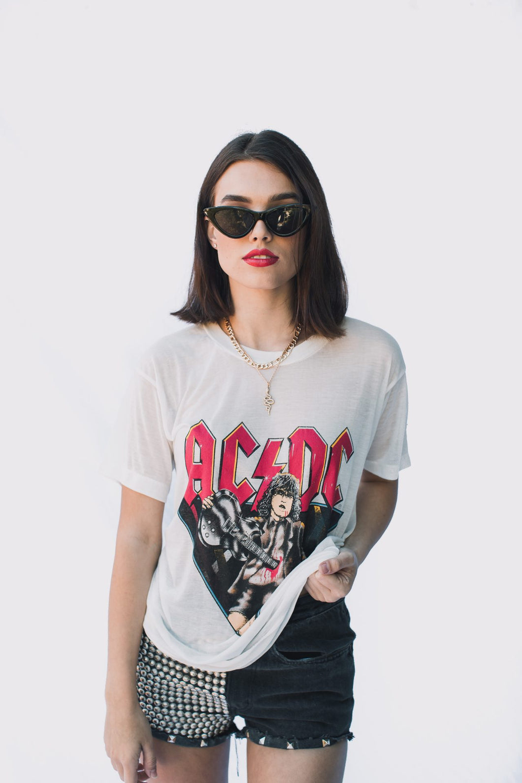 VINTAGE BAND TEE – ACDC gypsy trader