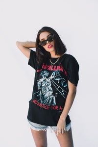 VINTAGE BAND TEE – METALLICA GYPSY TRADER