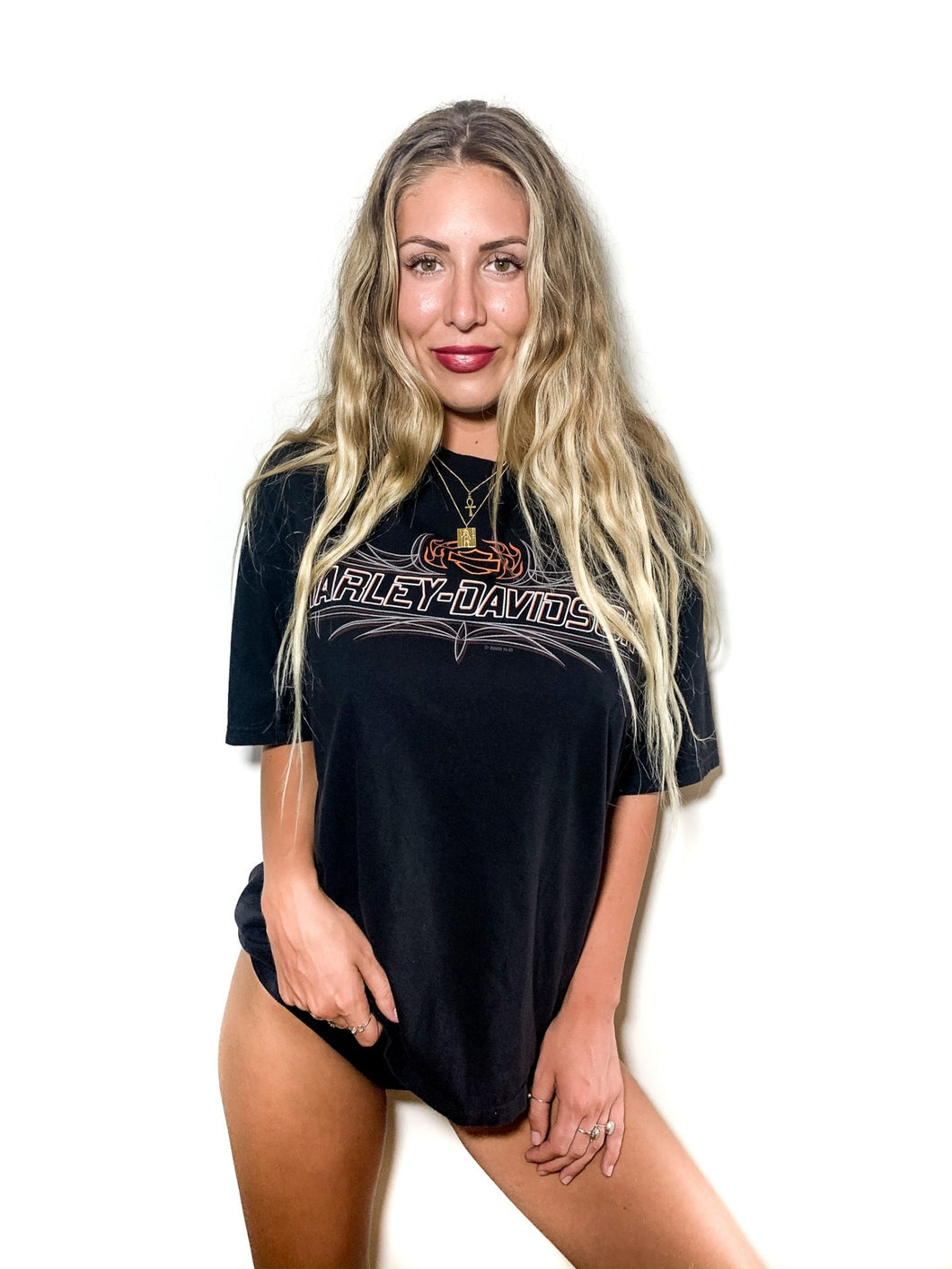VINTAGE HARLEY TEE – RICKS ROAD HOUSE GYPSY TRADER