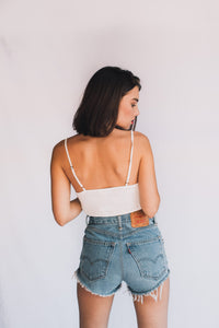 VINTAGE LEVI CUT OFFS LIGHT GYPSY TRADER