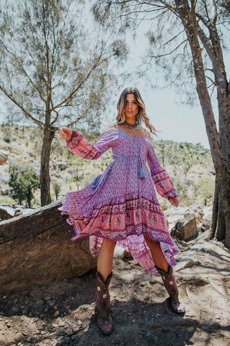 WILD WILD WEST DRESS- WILD ROSE GYPSY TRADER