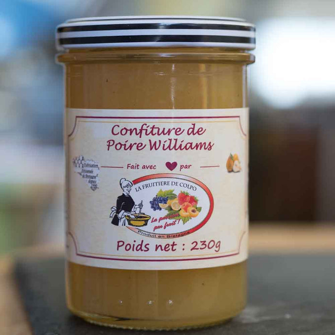 Confiture de Poires Williams artisanal - La Fruitière de Colpo