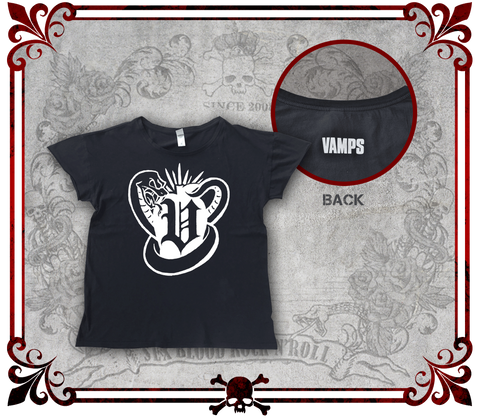 "VAMPS Original Sin Rocker T-Shirt (Women's) /VAMPS 「Original Sin」ロッカーTシャツ(女性用)/Camiseta ""Original Sin"" de VAMPS (Mujer)"
