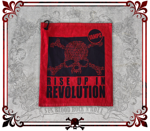 Revolution Concert Towel . REVOLUTIONコンサートタオル . Toalla de REVOLUTION