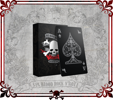 VAMPS Playing Cards . トランプ . Set de naipes