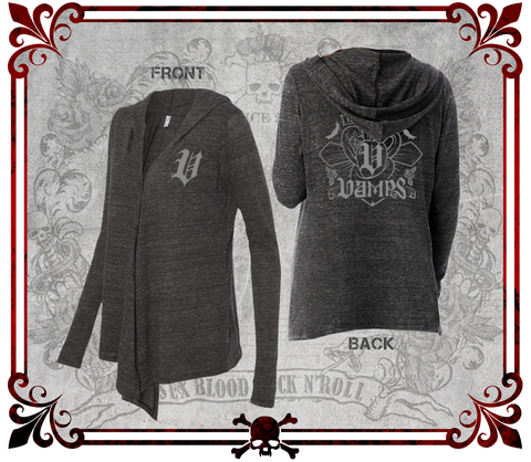 VAMPS All New 2017 Hooded Cardigan/VAMPS新着2017フード付きカーデ/Chaqueta con Gorra de VAMPS 2017