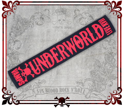 UNDERWORLD Long Concert Towel/コンサートタオル/Toalla Larga para Conciertos