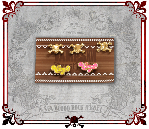 VAMPS Spiral Hair Clips . VAMPS ヘアアクセサリー . Broches espirales de VAMPS