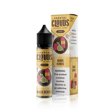 Coastal Clouds Mango Berries 60mL - The V Spot Vapor Vape Shop,