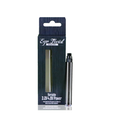 900mah Twist Battery w/charger NEW - The V Spot Vapor Vape Shop,