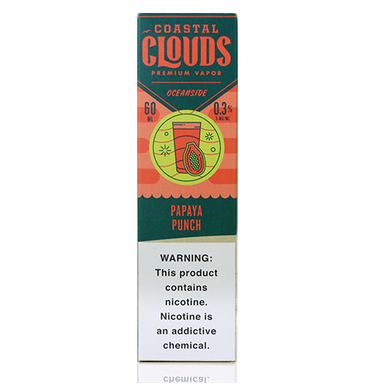 Coastal Clouds Papaya Punch - The V Spot Vapor Vape Shop,
