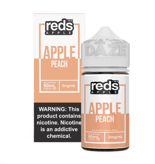 Reds Peach - The V Spot Vapor Vape Shop,