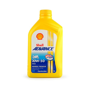 SHELL ADVANCE 4T AX5 20W50