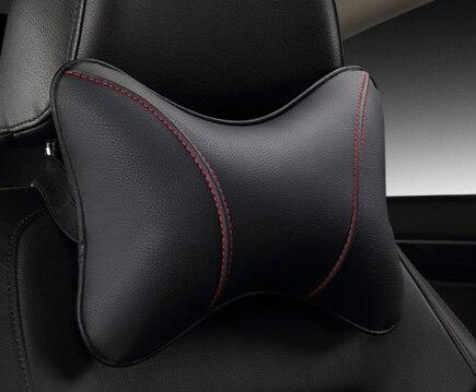 2020 brand new pu leather car headrest pillow universal comfortable neck pillows fit for most cars quality guarantee E1