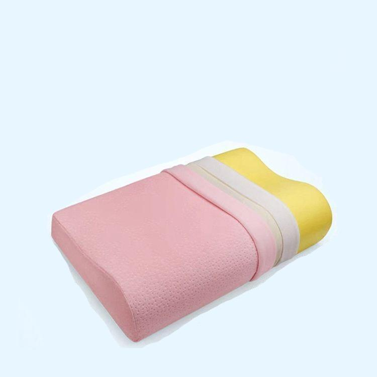 Memory Foam Neck Pillow Orthopedic Cervical Coccyx Massager Pillows For Sleeping Slow Rebound Health Care Pain Release Bedding
