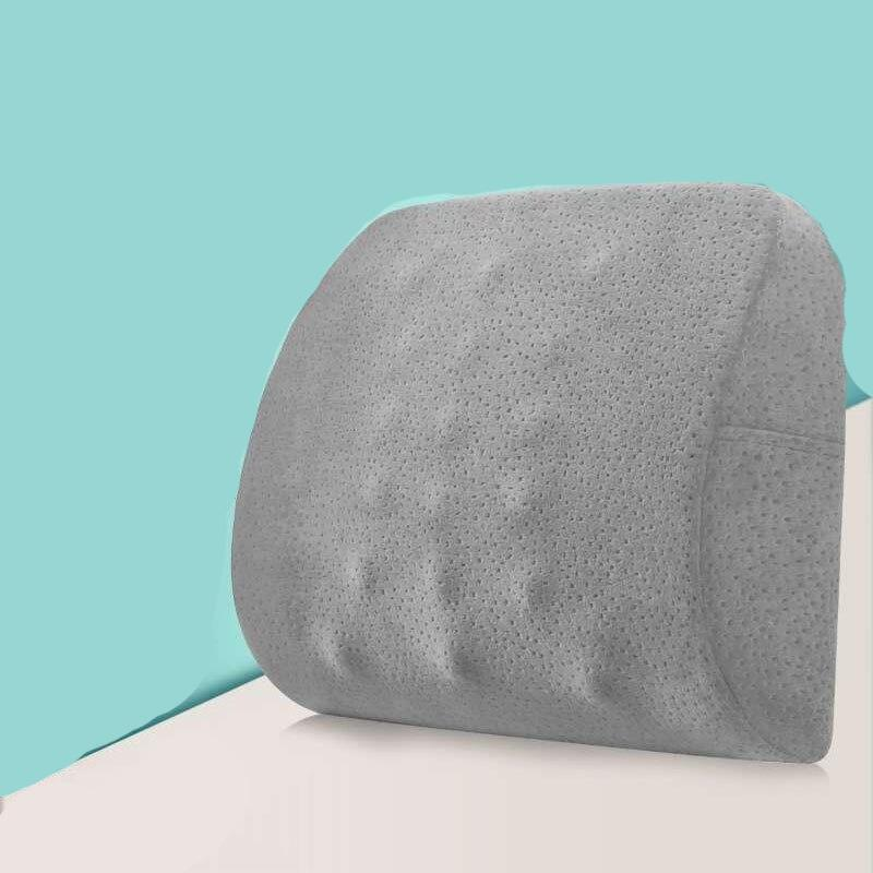 Memory Foam Seat Chair Cushion Coccyx Orthopedic Lumbar Support Pillow Car Seat Pad Office Chair Cushion Waist Massage pillow