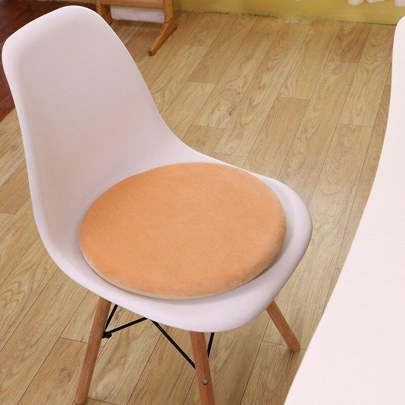Round Memory Foam Seat Cushion Hip Massager Support Pad Office Chair Cushion Car Seat Floor pillow Orthopedic Meditation Cushion