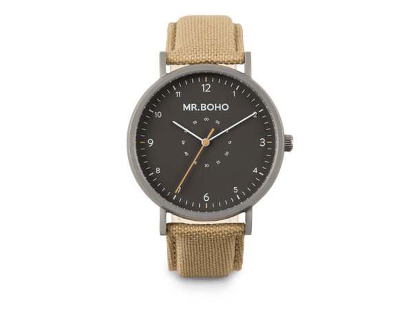 IRON KHAKI - SPORTY METALLIC - 40 MM