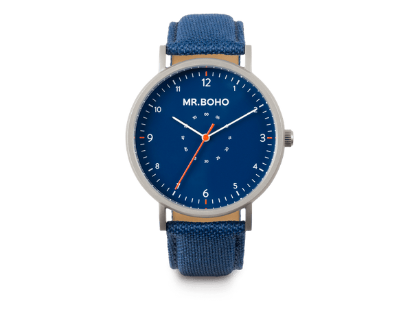 IRON BLUE - SPORTY METALLIC - 40 MM