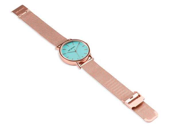 COPPER AQUA BLUE - CADET METALLIC - 36 MM